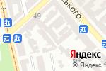 Схема проезда до компании Бюро компьютерных находок в Одессе