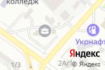 Схема проезда до компании Мебельный Вопрос в Одессе