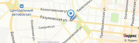 Сирийская диаспора на карте Одессы