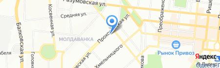 Протексис на карте Одессы