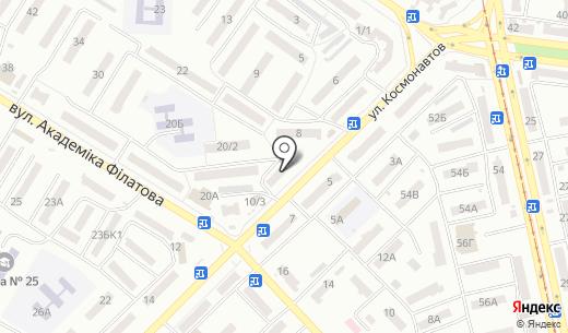 Капитал. Схема проезда в Одессе