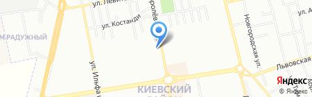 Камильфо на карте Одессы