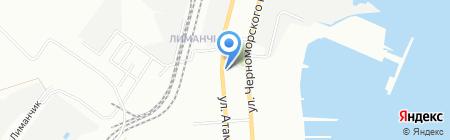 Детский сад-ясли №7 на карте Одессы