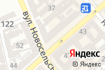 Схема проезда до компании Нико в Одессе