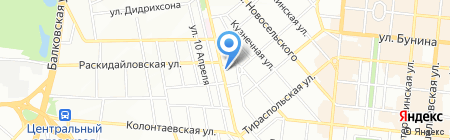 Сверчок`С на карте Одессы