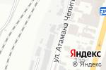 Схема проезда до компании TheBike в Одессе
