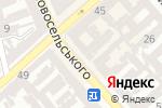 Схема проезда до компании Все для детей в Одессе