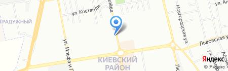 Ок на карте Одессы