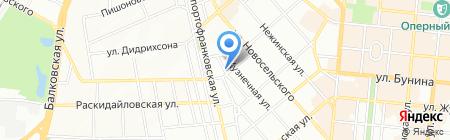 Хинкальная на карте Одессы