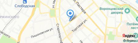 Александра на карте Одессы