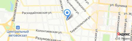 СитиКом на карте Одессы