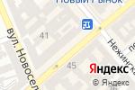 Схема проезда до компании Life Tuning в Одессе