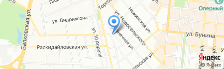 Будуар на карте Одессы