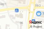 Схема проезда до компании Вертикаль в Одессе
