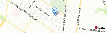Стройматериалы на карте Одессы