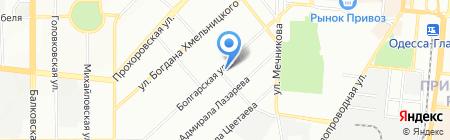 Диалог на карте Одессы