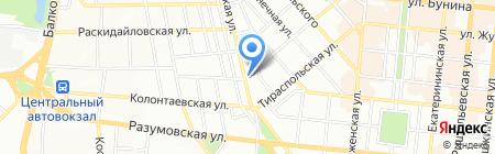 Золота Скриня ПТ на карте Одессы