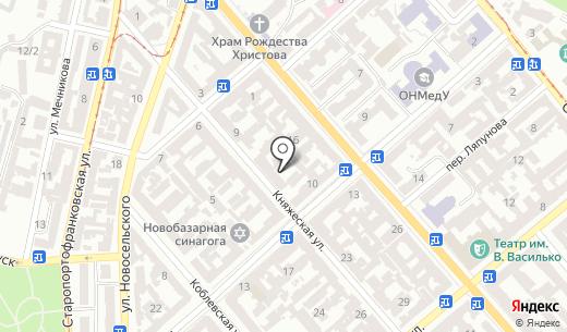 Респект. Схема проезда в Одессе