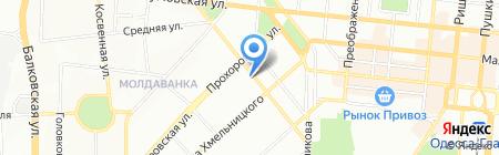 Апгрейд на карте Одессы