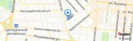 Смартис на карте Одессы