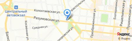 Антик ЧП на карте Одессы