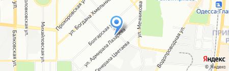 Благо на карте Одессы