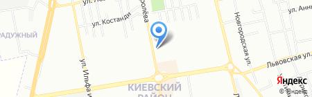 Кот Ученый на карте Одессы