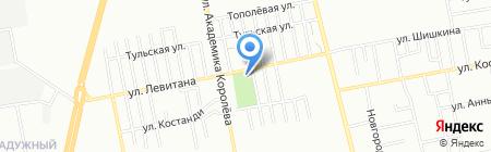 Водограй на карте Одессы