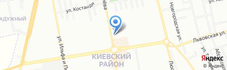 Акс на карте Одессы
