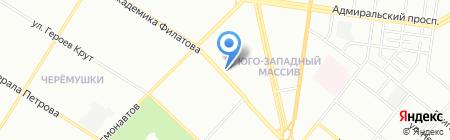 Версаль на карте Одессы