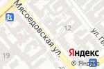 Схема проезда до компании Комитет защиты профессиональных прав адвоката и реализации гарантии адвокатской деятельности Совета Адвакатов Одесской области в Одессе