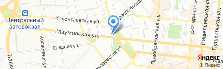 Espa на карте Одессы