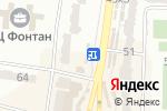 Схема проезда до компании Лилия в Одессе