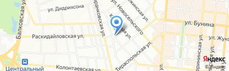 Канцелярия на карте Одессы