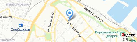 Элитфарм на карте Одессы