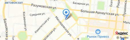 Global Way на карте Одессы