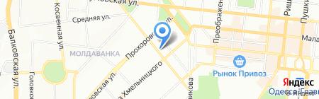 Детский сад-ясли №3 на карте Одессы