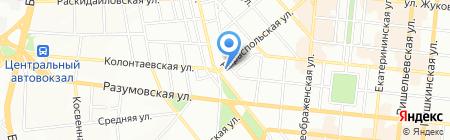 Амитрин на карте Одессы