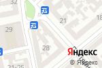 Схема проезда до компании Офсетик-Сервис в Одессе