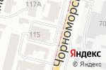 Схема проезда до компании Терминал самообслуживания, КБ ПриватБанк, ПАО в Одессе