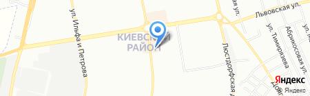 И Юань на карте Одессы