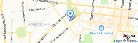 РоллСи на карте Одессы