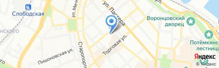 Маяк на карте Одессы