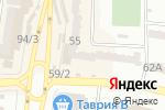 Схема проезда до компании Фуджи-фильм в Одессе