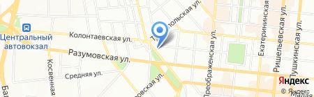Persona на карте Одессы