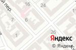 Схема проезда до компании NSP в Одессе
