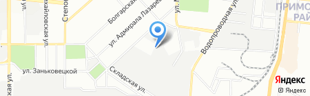 Антал-Энерго на карте Одессы