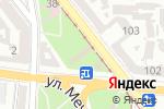 Схема проезда до компании Центральный цветочный рынок в Одессе