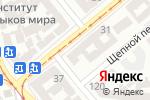 Схема проезда до компании ZooBonus в Одессе
