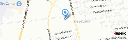 BBR на карте Одессы